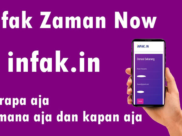 Infak Zaman Now di infak.in