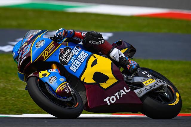 Alex Marquez fica com a vitória da Moto2 em Mugello