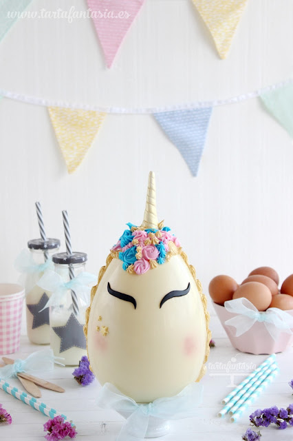 Tutorial huevo de pascua unicornio