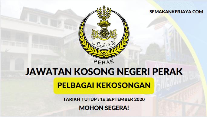 Minima PMR / PT3 Layak Mohon Jawatan Kosong Terkini Majlis Daerah Gerik ~ Mohon Sebelum 16 September 2020
