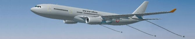 IAF Set To Lease A330 Mid-Air Refueler From France For Training