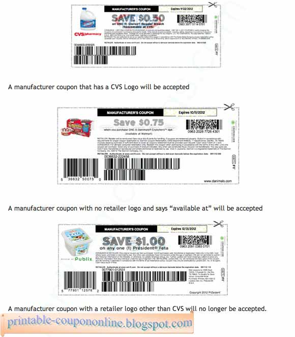 Cvs manufacturer coupons