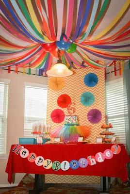 dekorasi ultah anak terbaru