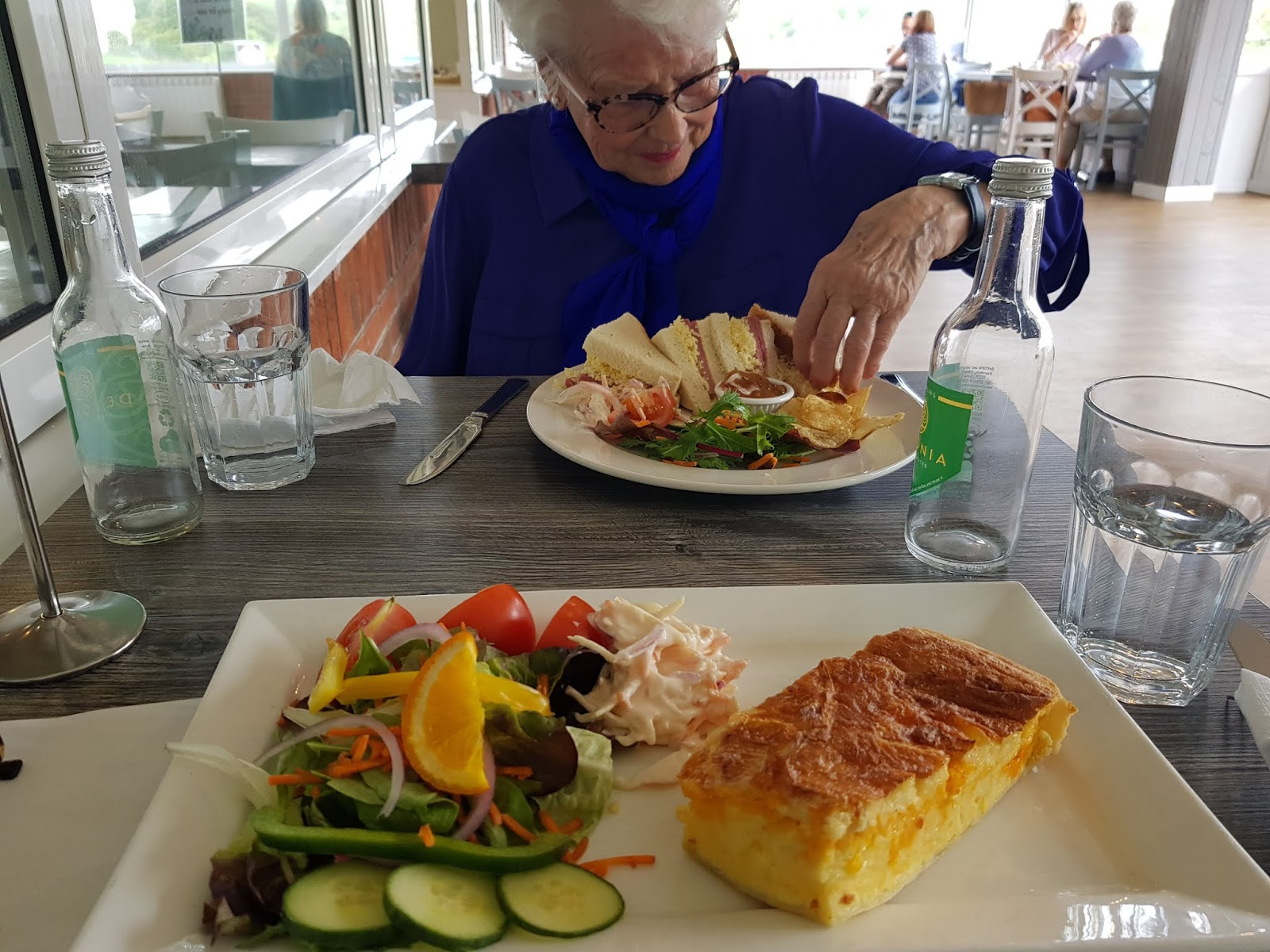 Lunch for two at Otter Garden Centre near Plymouth