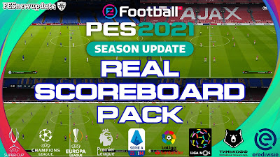 PES 2021 Real Scoreboards V2 by Furkan6141