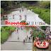 Sambut HUT Bhayangkara Ke - 73, Polres Bitung, TNI Dan Ratusan Komunitas Pecinta Alam Malendong Sungai Girian