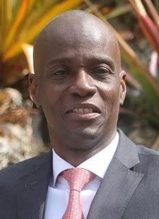 Präsident Jovenel Moïse