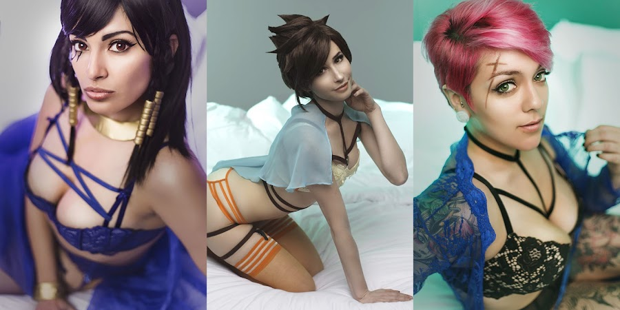 top 3 sexy overwatch cosplay