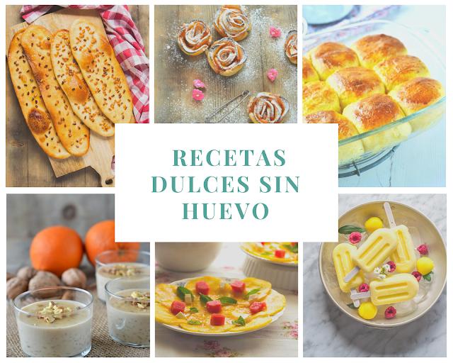 Recetas dulces #sinhuevo
