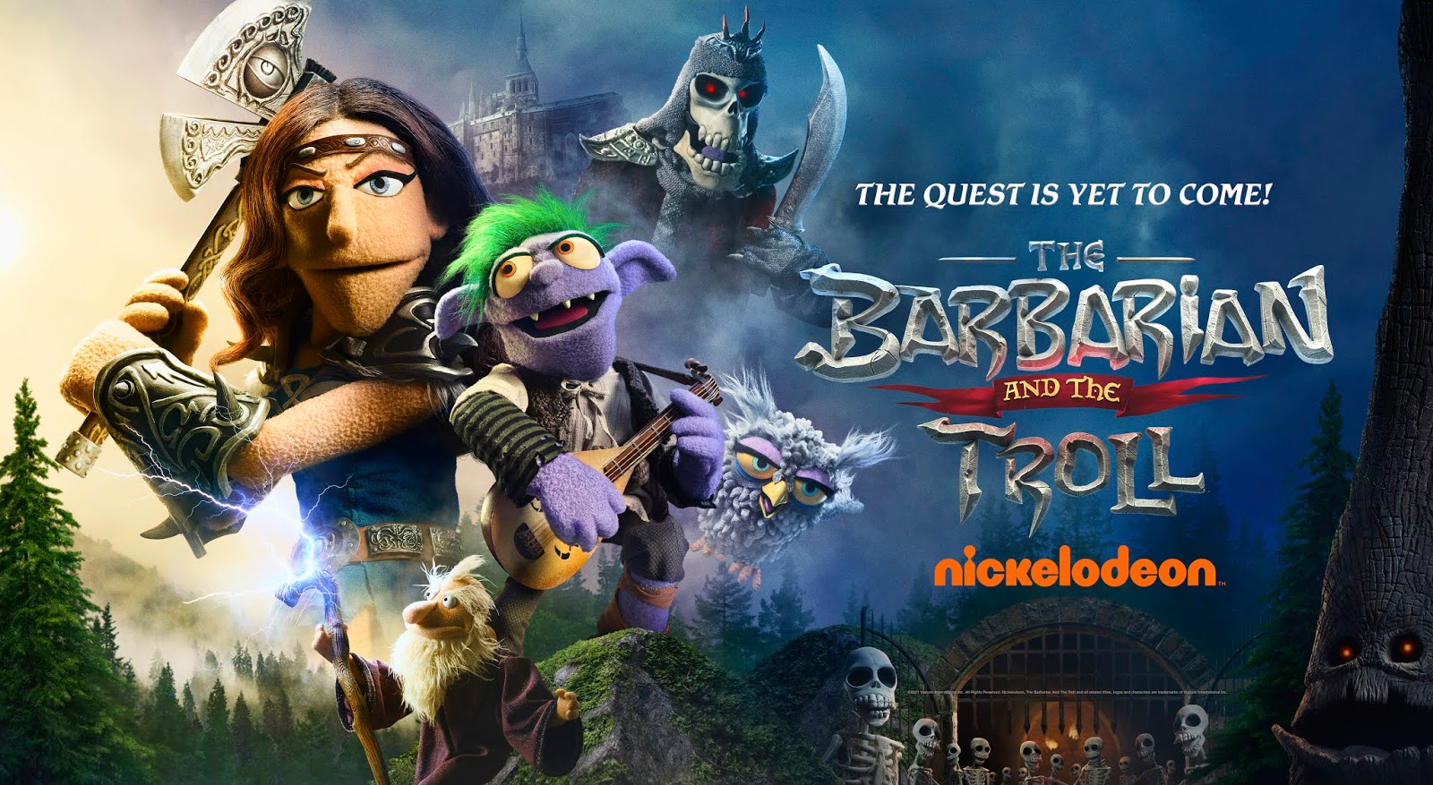 'Come Together' Promos + Sneak Peeks | The Barbarian and the Troll | Nickelodeon