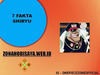 Fakta Shiryu One Piece