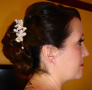 Kauai wedding bride hairdo married professional makeup experienced beach