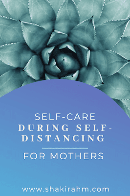 We are all feeling the effects of social distancing. I know as mothers, this is hard, but it is more critical now more than ever to take practice self-care for yourself.