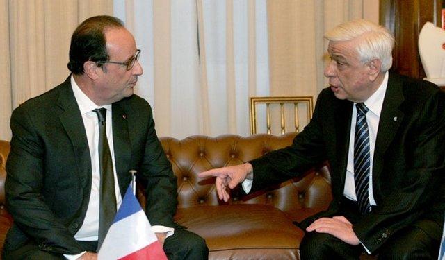 Στη Γαλλία ο Προκόπης Παυλόπουλος-Συνάντηση σήμερα με τον Ολάντ