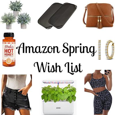 Amazon Spring Wish List