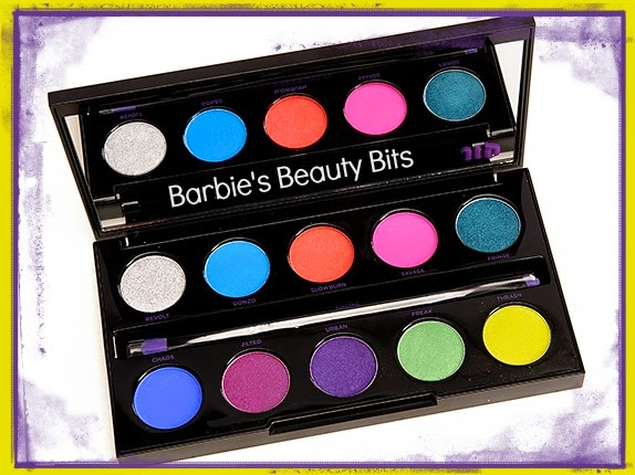 Urban Decay's Electric Pressed Pigment Palette, By Barbie's Beauty Bits