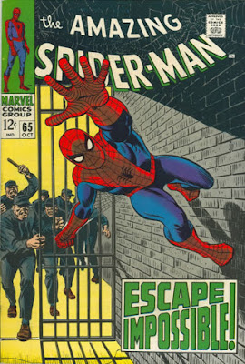 Amazing Spider-Man #65, jail break