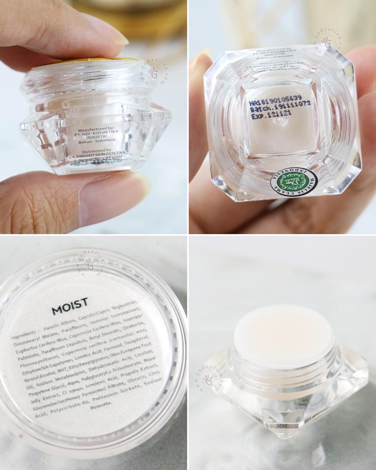 Review eBright Skin Moist Plus