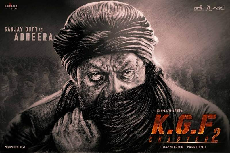 Sanjay Dutt as Adheera in KGF Chapter 2