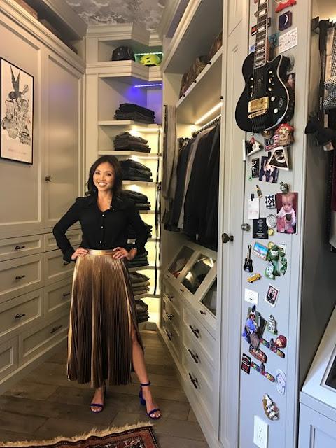 Роскошный дизайн гардеробной комнаты от Лизы Адамс. 10 эксклюзивных проектов и 80 фото