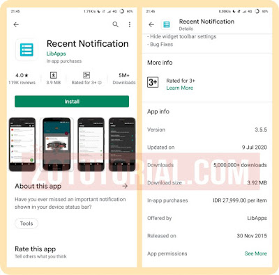 Cara Mengetahui Pesan WhatsApp Yang Ditarik atau Dihapus (WA Android)