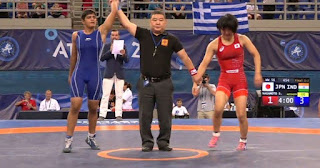 Spotlight : Female wrestler Sonam wins Gold in Cadet World Wrestling Championship