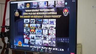 Peringati HUT Humas Polri 69 Bidhumas Polda Jateng Beri Informasi Objektif