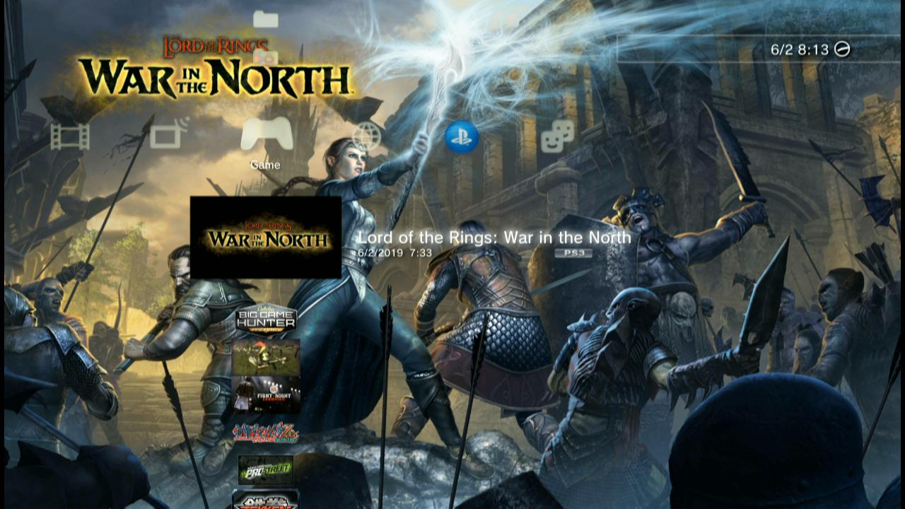 Free Download Game PS3 OFW Han - Lord of the Rings: War in