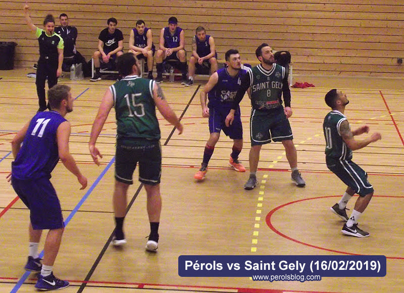 Pérols Basket vs Saint-Gély Basket