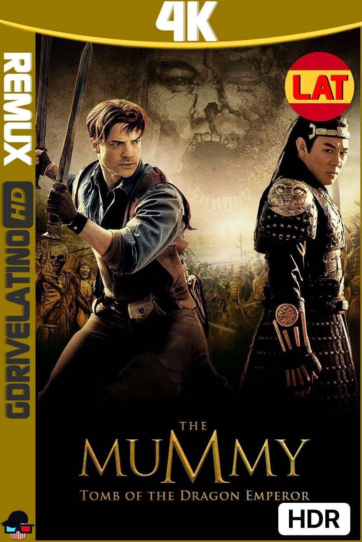 La Momia: La Tumba del Emperador Dragón (2008) BDRemux 4K HDR Latino-Ingles MKV