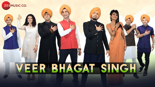 Veer Bhagat Singh Song Lyrics - Sonu Nigam, Shaan, Mika Singh,  Kailash Kher, Arijit Singh, Ankit Tiwari,  Dr. Kumar Vishwas, Sonu Kakkar & Palak Muchhal