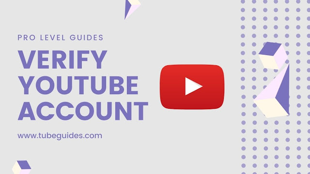 how to verify a youtube account