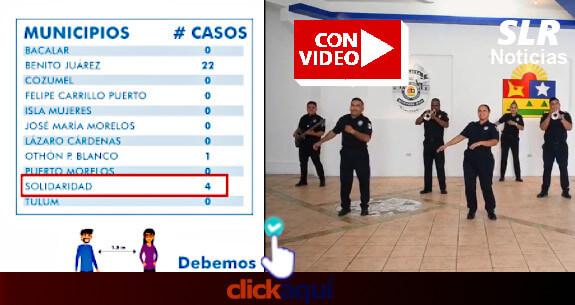 policia-de-quintana-roo-baila-por-cronavirus-casos-suben-capella