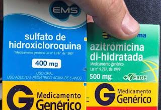 Bahia autoriza tratamento com hidroxicloroquina e azitromicina para pacientes com coronavírus