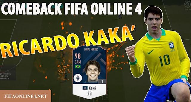 Review Ricado Kaka trong game FO4. Review chi tiết Kaka mùa Loyal Hero.