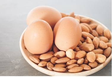 Eggs And Almonds