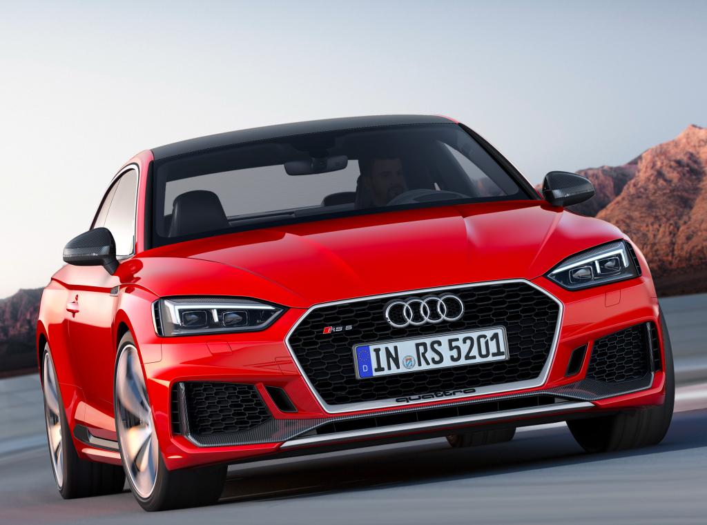 Audi RS5 Coupé: ainda mais sedutor e poderoso, com novo motor Porsche