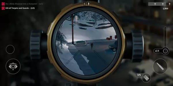 لعبة القاتل المأجور للاندرويد