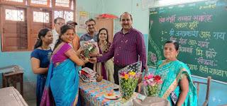 कांदिवली में सेवानिवृत्त शिक्षकों का किया गया सम्मान  | #NayaSaberaNetwork