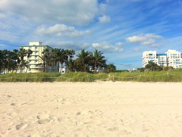 strand i Florida- Miami north beach