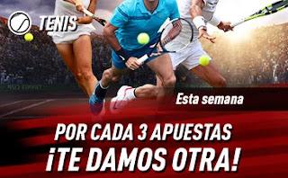 sportium promo tenis 22-28 marzo 2021