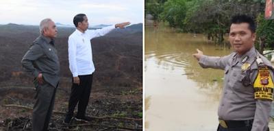 Ibu Kota baru, Penajam Paser Utara banjir