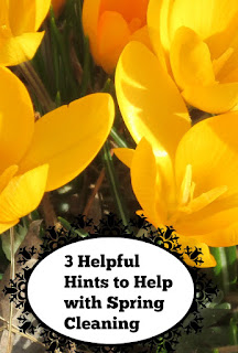 3 Helpful Hints to Help with Spring Cleaning
