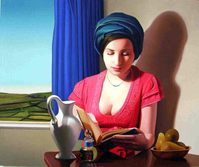 Элегантность в живописи. Michael de Bono 7
