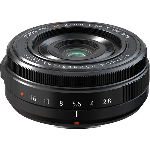 Fujinon XF 27mm f/2.8 R WR