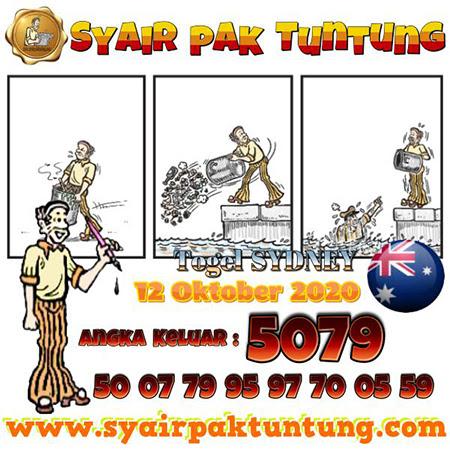 Syair Pak Tuntung Sydney Senin 12 Oktober 2020