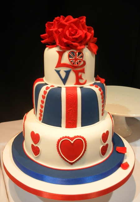 wedding cakes red white and blue the confetti the great summer white 25360