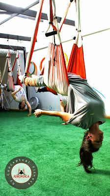 aero yoga aereo bogota colombia