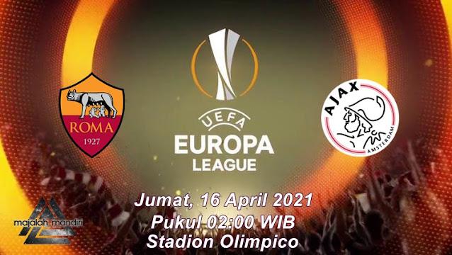 Prediksi AS Roma Vs AFC Ajax