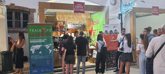 KOPI TUNI di festival kopi internasional